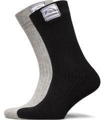 k/lounge cashmere blend sock 2 lingerie socks regular socks svart karl lagerfeld