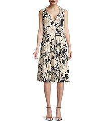juliette a-line tiered dress