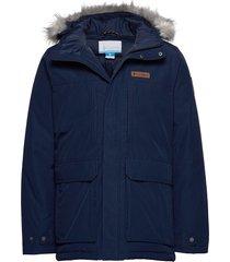 marquam peak jacket parka jas blauw columbia