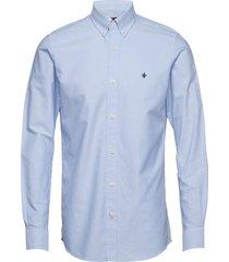 oxford button down shirt overhemd business blauw morris