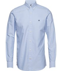 oxford button down shirt overhemd business blauw morris