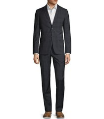rodolf two-piece plaid suit