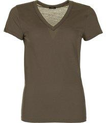 joseph t-shirt v neck groen