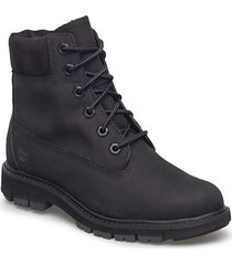 lucia way 6in boot wp shoes boots ankle boots ankle boot - flat svart timberland