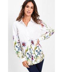 blouse met bloemenprint