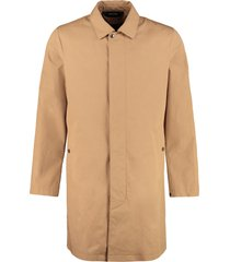 z zegna cotton trench coat