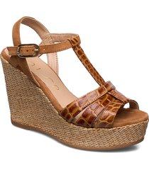 molino_crw_ks sandalette med klack espadrilles brun unisa