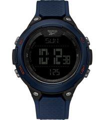 reloj  thruster azul marino reebok