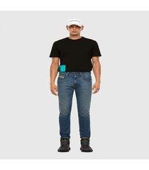 polera t just slits x81 t shirt negro diesel
