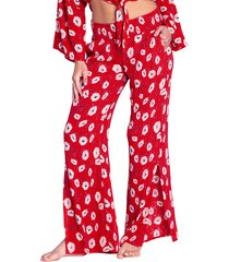 women's billabong need you floral print pants