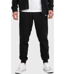 pantalón de buzo converse negro - calce regular