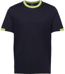 tiburt 169 t-shirts short-sleeved blå boss