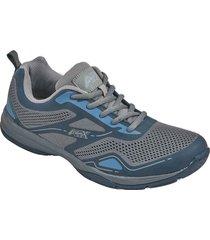 zapatos jogger aeroflex navy md8708