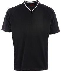 hugo diort v-neck t-shirt - black 50406572