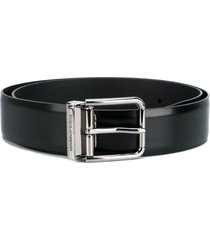 dolce & gabbana classic belt - black