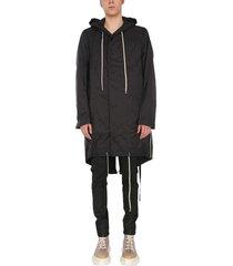 jumbo fishtail coat