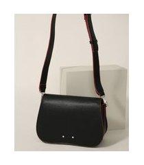 bolsa feminina pequena transversal cinza preta