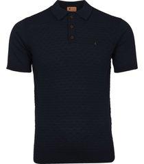gabicci vintage navy bennett polo shirt v38gm08