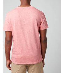 polo ralph lauren men's custom slim fit jersey pocket t-shirt - desert rose - xxl
