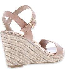 zapatos casuales para mujer marca beira rio, color beige