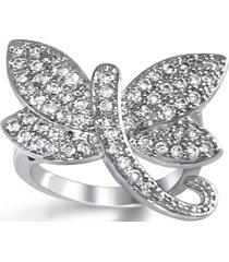 anillo libelula casual plata arany joyas