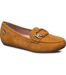 parma buckle loafers låga skor brun novita