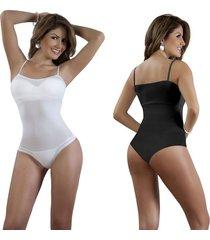 duo body moldeador tiras delgadasuso interior y/o exterior blanco y negro