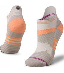 calcetin mujer andes run socks gris claro lippi