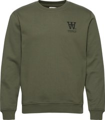 tye sweatshirt sweat-shirt trui groen wood wood