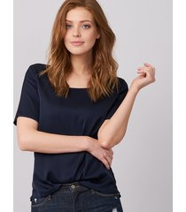 t-shirt van zijde