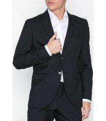 selected homme slhslim-mylohigh black blz b noos kavajer & kostymer svart
