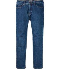 jeans termici elasticizzati classic fit straight (blu) - john baner jeanswear