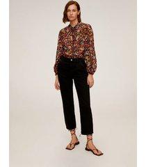 blouse met bloemetjesprint