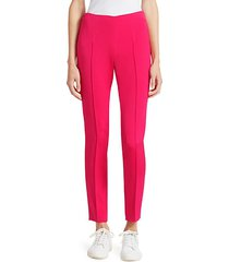 melissa silk crepe stretch pants