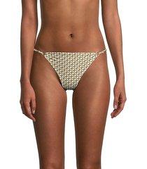 printed bikini bottom