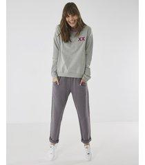 mexx sweater women nt1803013w grey melee