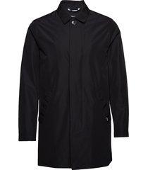 mamiles mac dunne lange jas zwart matinique