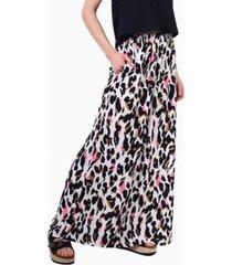 falda ema animal print manchas pink jacinta tienda