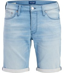 jack & jones plus size shorts lichtblauw denim