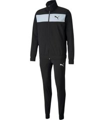 sudadera negra puma techstripe tricot cl hombre 581595-01