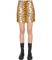 philosophy di lorenzo serafini velvet mini skirt