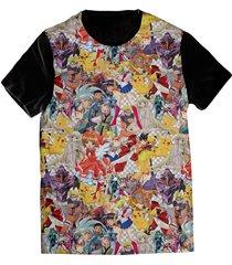 camiseta elephunk estampada geek anime lovers preta - kanui