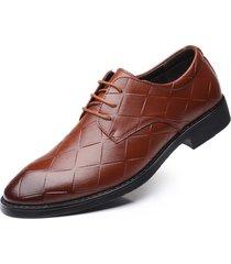 scarpe da sera formali da uomo vintage in pizzo di grandi dimensioni