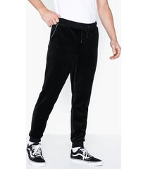 only & sons onsmtrack sweat pants byxor svart