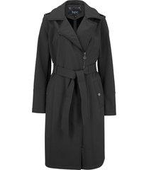 giacca in softshell stile trench (nero) - bpc bonprix collection