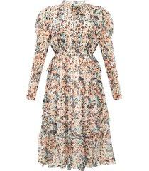 beatrice silk dress