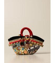 sikuly handbag scara p. sikuly coffa bag with decorative applications