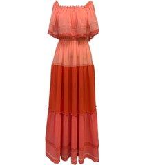 taylor lace-trim capelet dress