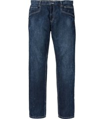 jeans con cavallo rinforzato regular fit straight (blu) - john baner jeanswear