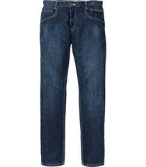 jeans con cavallo rinforzato regular fit straight (blu) - john baner jeanswear